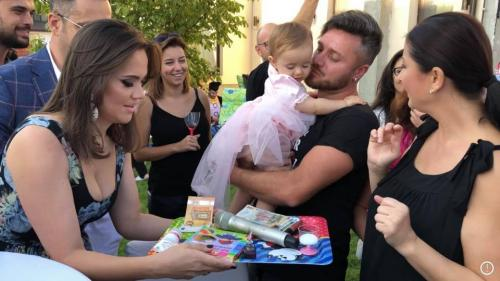 """Gabriela Cristea, despre ziua fetiței sale:  """"Am avut privilegiul sã trãiesc cea mai frumoasă și mai caldă zi din viaţa mea"""""""