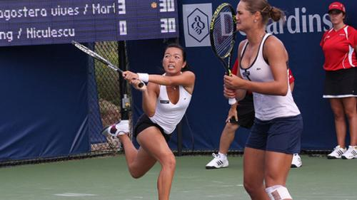 Monica Niculescu şi Vania King s-au retras din proba de dublu la Wuhan (WTA)