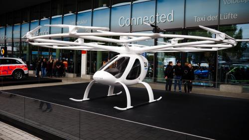 Taxiul zburător Volocopter va fi testat în Singapore în 2019