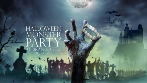 Halloween Monster Party la Castelul Bran