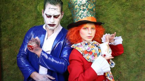 Criss și Vlad au fost transformați în Joker și Pălărierul Nebun