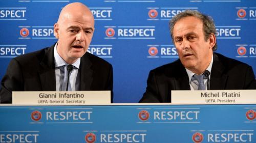 Scandal în lumeafotbalului: Michel Platini şi Gianni Infantino, acuzaţi că au acoperit dopajul financiar de la PSG şi Manchester City