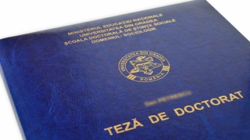 Evaluarea studiilor doctorale: Ministerul Educaţiei, neinteresat de plagiat