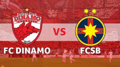 Dinamo - FCSB 1-1. Gnohere a fost eliminat din minutul 52