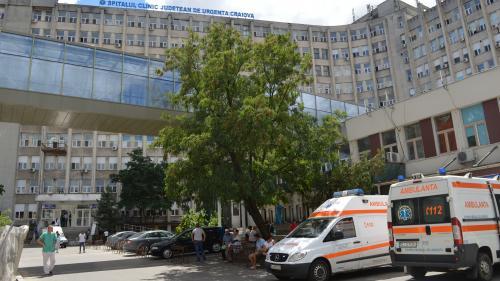 Sinucidere la Spitalul Judeţean Craiova! Un bărbat s-a aruncat în gol de la etajul 2