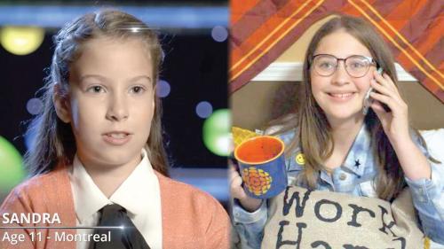 """Doua fetițe românce, candidate pentru titlul """"Cel mai deștept copil din Canada"""""""