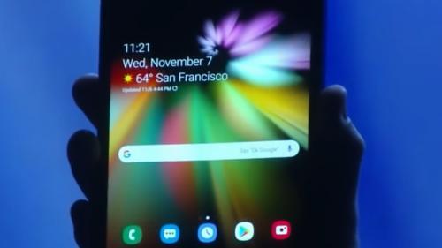 Au fost furate secretele ecranului pliabil Samsung