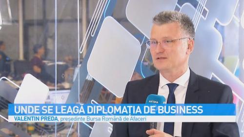 VIDEO Unde se leagă diplomația de business