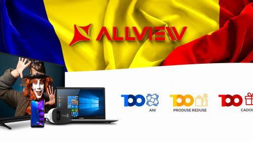 (P) Allview lansează Campania 100  100 ani, 100 produse reduse, 100 cadouri