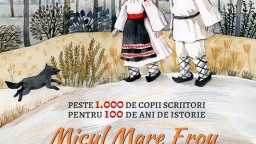 Singurul roman de Centenar, scris de peste 1.000 de copii români