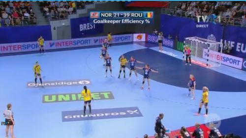 VICTORIE URIAȘĂ la Campionatul European de handbal feminin. România a demolat Norvegia