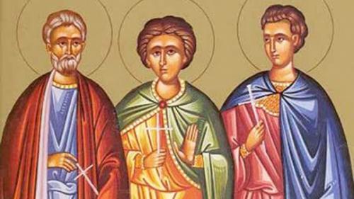 Calendar religios. Sf. Mc. Mina, Ermoghen și Evgraf