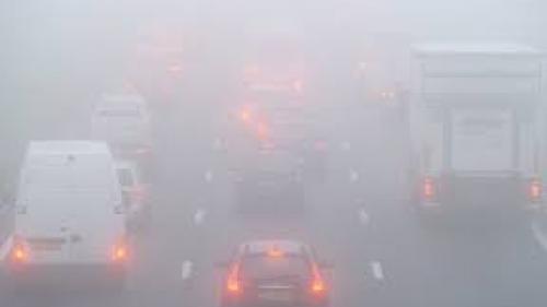 Cod galben de ceaţă în Bucureşti, Ialomiţa, Brăila, Ilfov, Constanţa şi Tulcea, luni seara