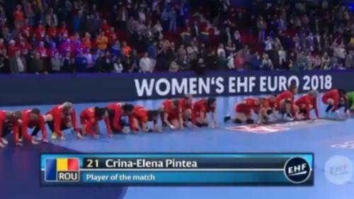 Campionatul European de handbal feminin: Victorie URIAȘĂ obținută de România după un meci chinuitor cu Spania