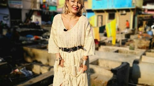 Gina Pistol și-a serbat ziua de naștere în India