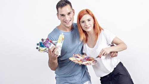 Cristina Ciobănașu și Vlad Gherman, amintiri din copilărie din perioada Crăciunului