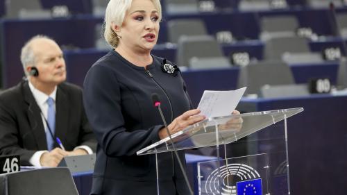 Viorica Dăncilă: Preşedinţia României a Consiliului Uniunii Europene, bazată pe 4 piloni