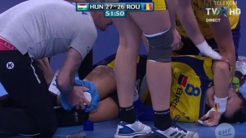 Cristina Neagu confirmă, pe Facebook, că are ruptură de ligament