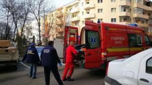 Un bătrân din Buzău a murit după ce s-a aruncat de la etajul 8 al unui bloc