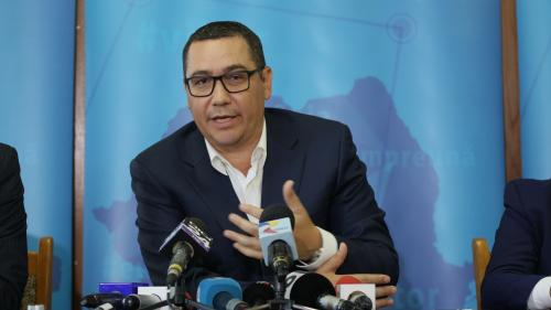 Victor Ponta: Doamna Viorica Dăncilă a mințit chiar în Parlament