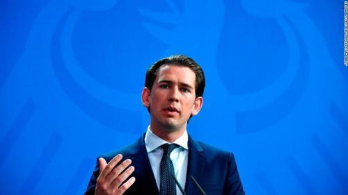 Cancelarul austriac, primit de președintele Iohannis