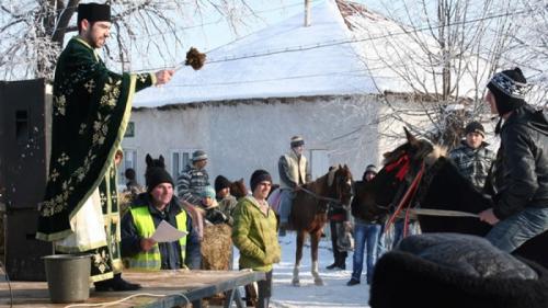 Datini, tradiții și obiceiuri românești, în luna ianuarie