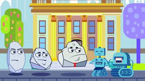 Justiţia, explicată în desene animate