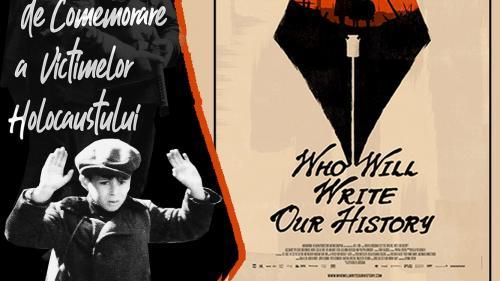 """Ziua Internaţională de Comemorare a Victimelor Holocaustului  la InstitutulCultural Român. """"Cine ne va scrie istoria"""""""