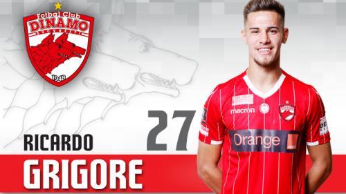Fotbal: Ricardo Grigore (Dinamo): Mircea Rednic îmi dă încredere, sper să nu îl dezamăgesc şi să rămân titular
