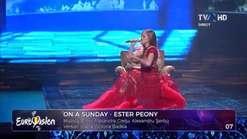 Cine este Ester Peony, câștigătoarea Eurovision România. O româncă crescută la Montreal care s-a lansat cu cover-uri postate pe Youtube