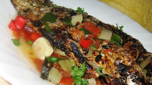 Saramura lipovenească de peşte din Marea Neagră