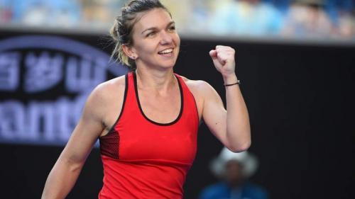 Simona Halep a învins-o pe Eugenie Bouchard la Dubai