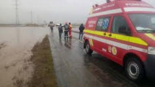 Un mort şi trei răniţi într-un accident rutier în Galaţi