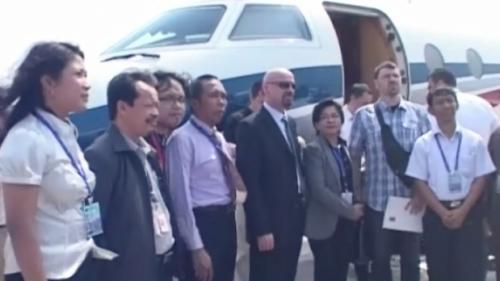 Firma din Ploieşti s-a împrumutat la bănci înainte de a plăti avionul privat pentru Jakarta