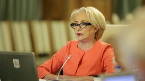 Viorica Dăncilă i-a trimis lui Klaus Iohannis propunerile de numire a miniştrilor la Transporturi şi Dezvoltare