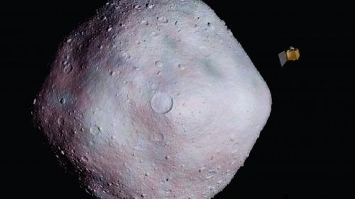 Sonda Hayabusa-2 a reușit să recolteze mostre de materie de pe asteroidul Ryugu