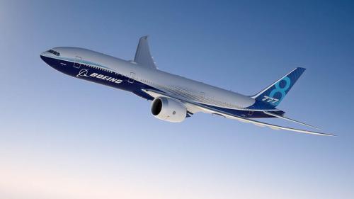 FOTO. Boeing a lansat cel mai lung avion din lume: modelul 777X