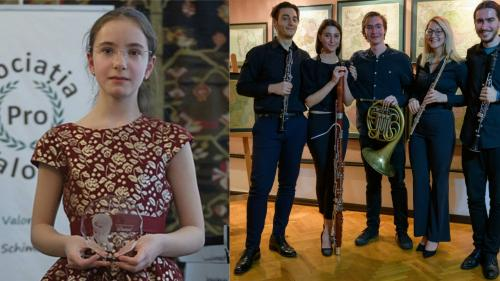 Eva Garet, revelația pianisticii românești, alături de Alley of Winds, invitați ai Stagiunii de colecție de la Biblioteca Națională a României