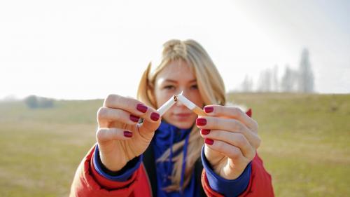 Lăsarea de tutun se face brusc, nu în trepte