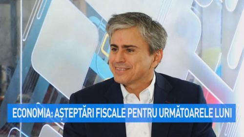 VIDEO Economia: asteptari fiscale pentru urmatoarele luni