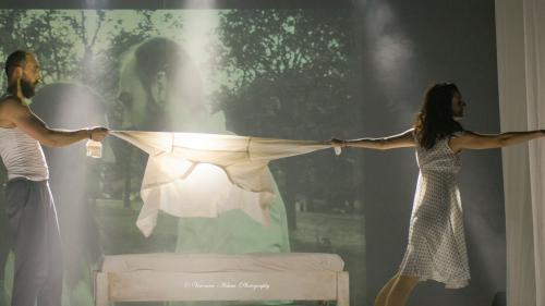 """Spectacolul """"Oxygen"""", o producție Teatrelli cu actorii Antoaneta Cojocaru și Daniel Pascariu, urcă în această seară pe scena cunoscutului Théâtre Aleph din Franța"""