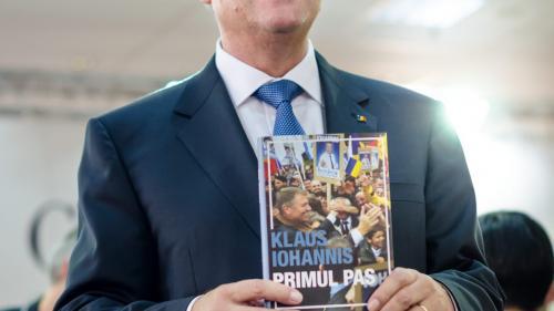 Preşedintele Iohannis despre noua sa carte: Nu am vrut să fie nici preţioasă, nici pretenţioasă