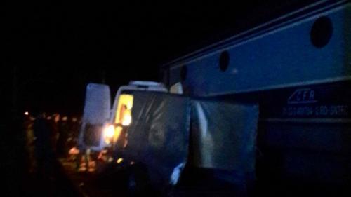 Şoferul microbuzului lovit de tren la Bâlhacu era băut în momentul accidentului