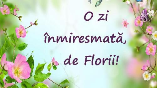 65 de urări de Florii, pentru sms-uri, twittere, mesaje pe facebook ori scrisori