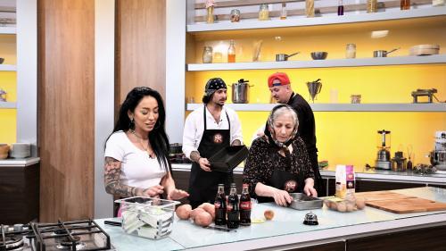 Ruby gătește cu bunica sa la Chefi la cuțite,  în sezonul dedicat familiilor