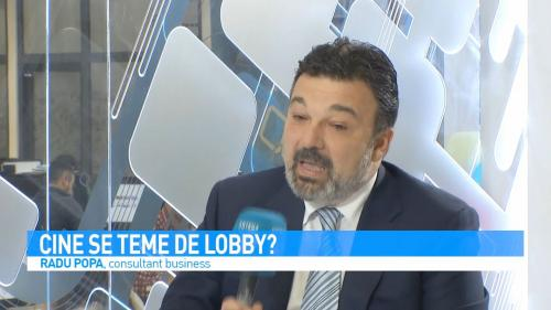 VIDEO Cine se teme de lobby?