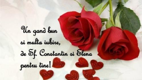 Mesaje de Sfinții Constantin și Elena. 100 de idei pentru sms-uri, felicitări și urări