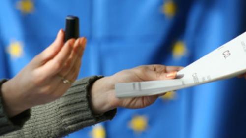 Autoritatea Electorală  a efectuat o simulare a procesului de votare la alegerile europarlamentare şi la referendum