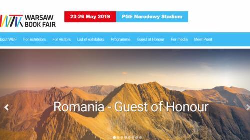România – invitat de onoare al Târgului de Carte de la Varșovia