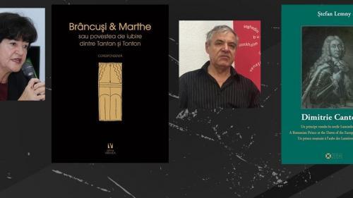 """Doina Lemny și Ștefan Lemny, invitați ai ICR la Bookfest. """"România înflorește din punct de vedere cultural"""""""